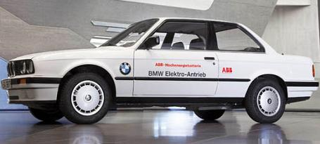 BMW 325iX 93 miles range 1987 all electric