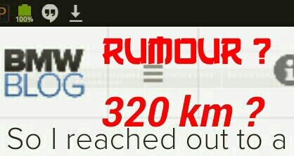 BMW BLOG 200 Mile_320 km Range Rumour
