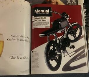 Bolt M-1 motorbike gets GQ Best Stuff Award