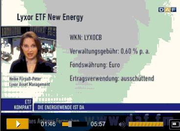 German DAF TV Lyxor New Energy