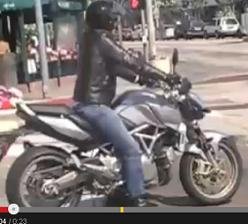 DiCaprio video Gasoline Motorbike 2009