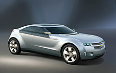 GM Chevrolet plug-in hybrid concept Detroit