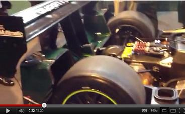 Lola Drayson Le Mans race car British NEC Jan 2012 Youtube