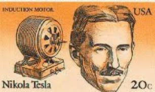Tesla Nikola USA Stamp