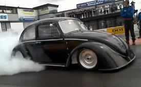 VW Brit Beetle 0-60 1.6 secs