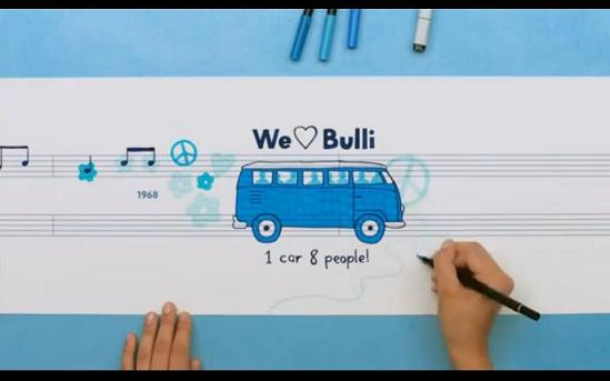 VW Thinkblue Bulli Ad Oct 2011 Eng