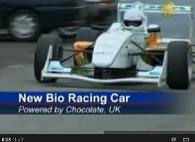 Warwick Waste Recycled Racing Car - India TV report