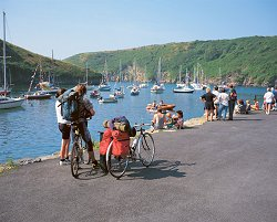 Welsh Harbour Village of Solva - National Park